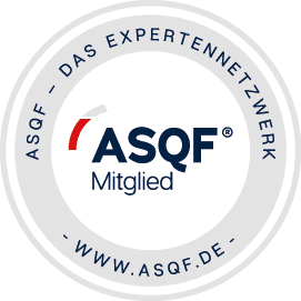 Peter Moser ist Mitglied im ASQF