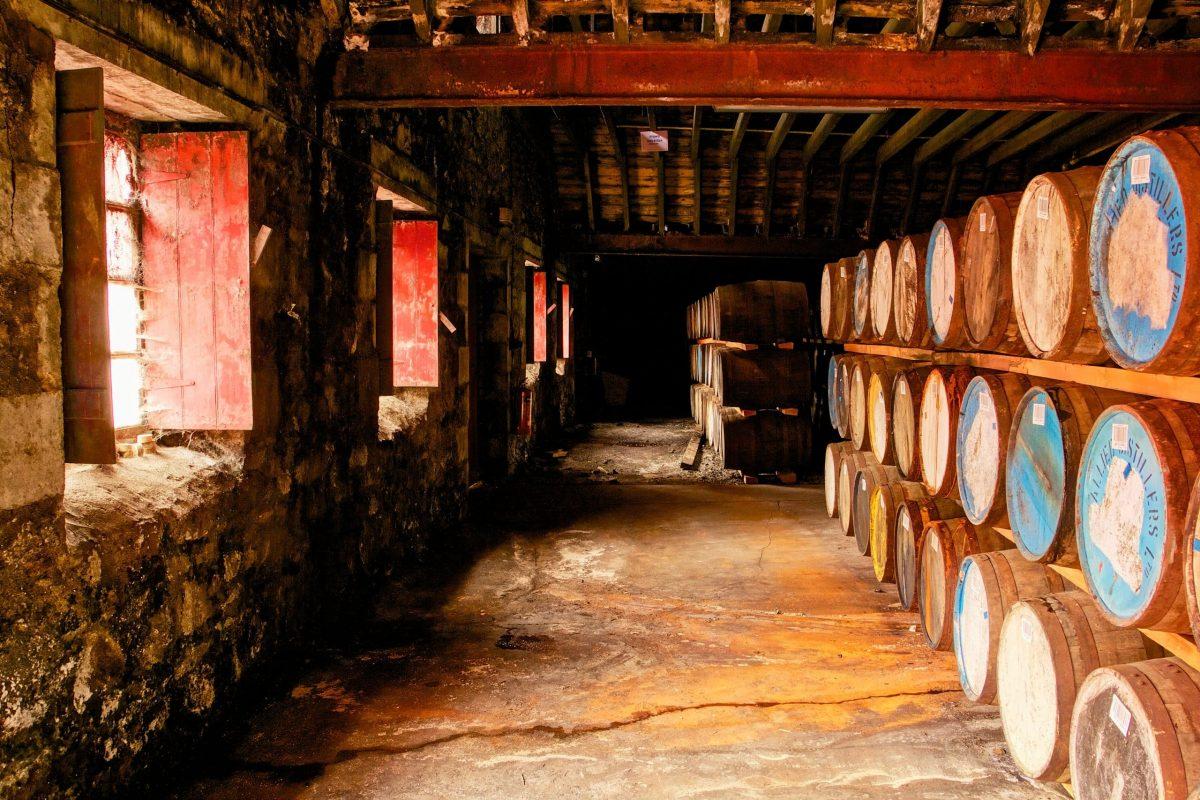 Ardmore Distillery Warehouse 3